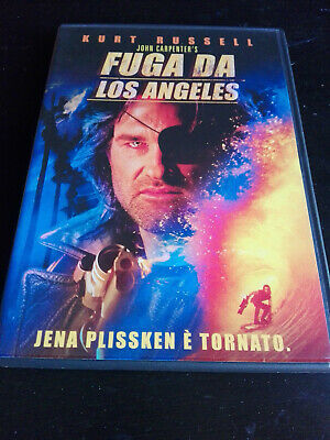 FUGA DA LOS ANGELES DVD COME NUOVO John Carpenter Kurt Russell