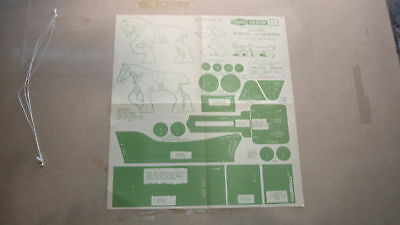 Vintage Wooden Toy Hobby Design Template & Instructions 1949 Horse & Wagon