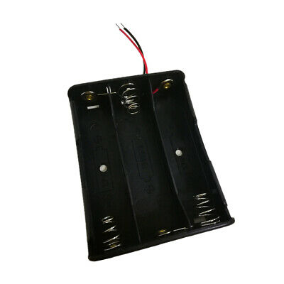 18650 Battery Holder 3-Slot 18650 Battery Storage Box for DIY Robot Toy Part