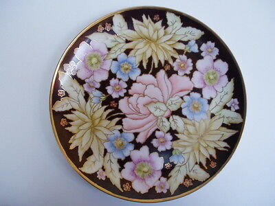 Hand Painted And Gilded Plate  - Ellen Lees