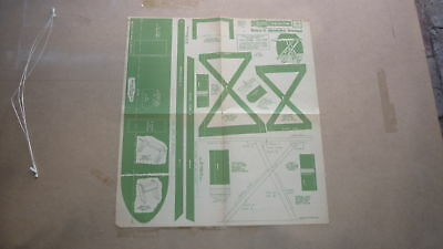 Vintage Wooden Toy Hobby Design Template & Instructions 1947 Ironing Board