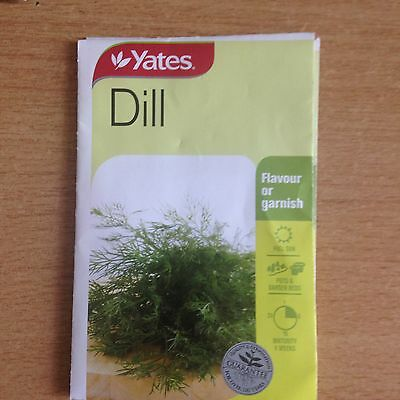 3 X Yates Dill Seeds (Bnisp) Flavour Or Garnish