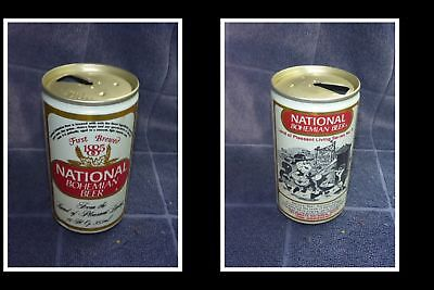 OLD COLLECTABLE USA BEER CAN, NATIONAL BOHEMIAN BEER, P/L 100th ANNIV