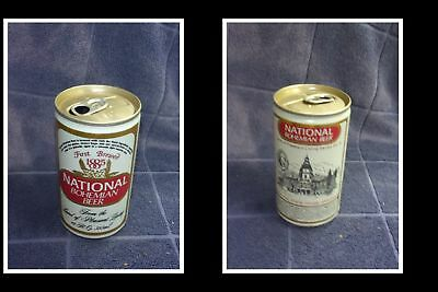Old Collectable Usa Beer Can, National Bohemian Beer, P/L Maryland State House