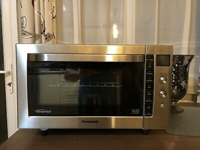 Panasonic Nn Cf778s Family Size Combination Microwave Oven 1000 W Eur 191 28 Picclick Fr