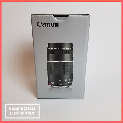 Canon EF 75-300mm F4-5.6 III Telephoto Zoom Lens - New - 12 Months Warranty