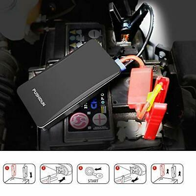400A Peak 6000mA Car Jump Starter Rescue Pack Booster Battery Charger Power Bank