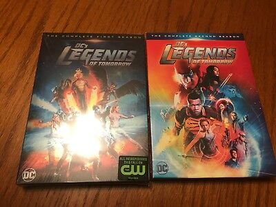DCs Legends of Tomorrow on DVD: Complete Seasons 1 & 2, Brand new in packages!