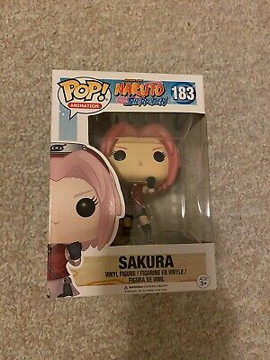 Funko Pop! Animation: Naruto Shippuden - Sakura #183 Vinyl Figure In Hand