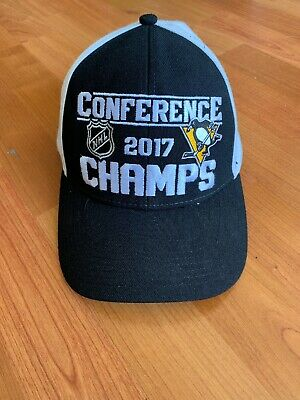41030a1f7 Reebok Pittsburgh Penguins 2017 Stanley Cup Adjustable Hat Cap Snapback