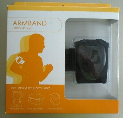 Armband For iPod Nano Protective Case, Adjustable Armband & Accessory Pouch