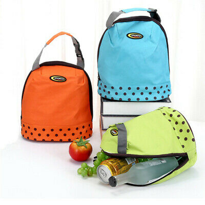 Portable Thermal Cooler Waterproof Insulated Lunch Carry Tote Picnic Storage Bag
