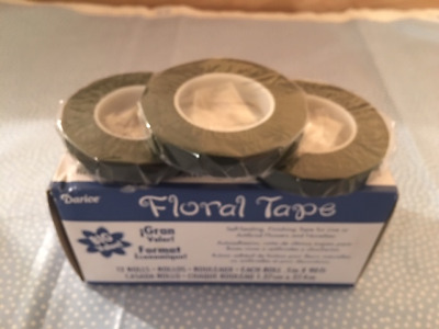Floral Tape By Darise Green Floral Tape 12 Rolls 90 Ft