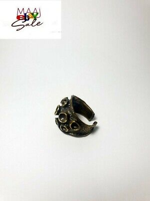 Vintage Ring Design Antique Brass Ring, Amazing Old Model Rare from holy land
