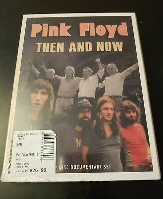 Pink Floyd: Then and Now (DVD, 2012, 2-Disc Set) Brand New Free Shipping (SH2)