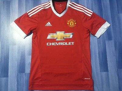 Small Adults Manchester United Football Shirt Season 2015-2016 Home