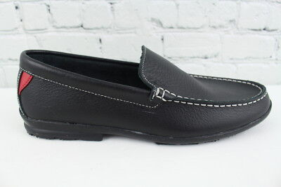 df34e1e9277 FOOTJOY MEN S CLUB Casuals  79047 Leather Loafers Black Size 12.0M ...
