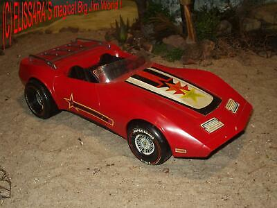 BIG JIM - Secret Agent 004 - Spion - Spy - Auto - Lazervette / BARBIE Star Vette
