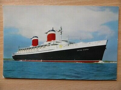 SS UNITED STATES passenger ship United States line launched 1951
