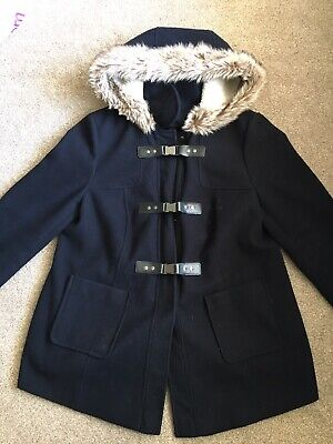 Maternity Coat Size 14 From Red Herring (Navy)