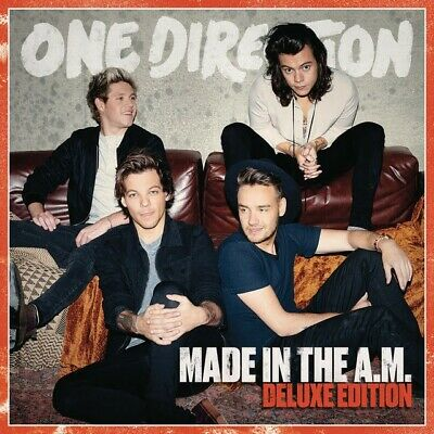 One Direction - Made in the A.M. Deluxe Edition (CD) Brand New Sealed