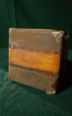 VINTAGE Caterpillar Tractor Company Bushing 4B3905 New Old Stock in Original Box