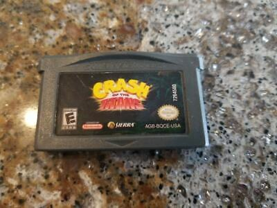 Crash of the Titans -- Nintendo Game Boy Advance -- Game Only