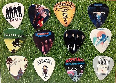 THE EAGLES Guitar Picks *Limited Edition* Set of 12