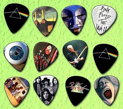 PINK FLOYD Guitar Picks *Limited Edition* Set of 12