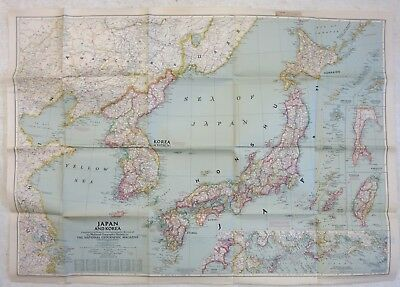 WW2 KOREA MAP of FRANCE Nancy large 36in x 48in Military US army ...