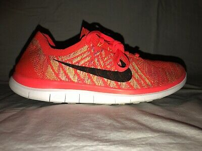 buy online 5ad5a 3601e NIKE FREE 4.0 FlyKnit Barefoot Ride Women's Sz. 10.5 Coral Running Shoes