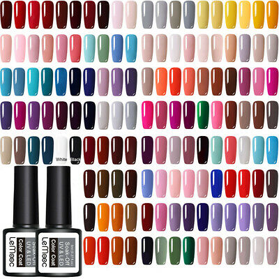 8ml LEMOOC Nail UV Gel Polish Soak off Nail Art UV Gel Varnish UV Gel Color