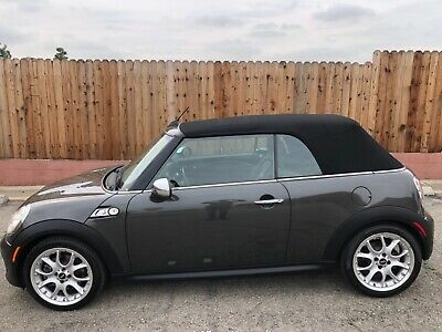 2011 Mini Cooper S CONNOLLY style LEATHER LOADED TOPLESS SOCAL LUXURY BEAUTY! CORROSION FREE! PREMIUM,SPORT,LUXURY PACKAGES! LUX!