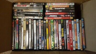 42 DVD Movies Kick-Ass, Knocked Up, Ghostbusters, Friday, Clerks & many more