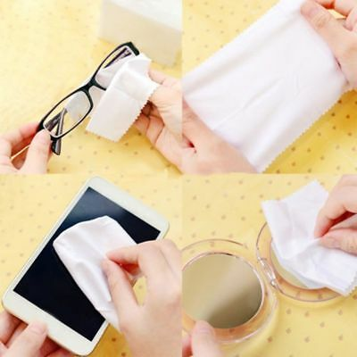 Microfiber Phone Screen Camera Lens Glasses Cleaner Square Cleaning Cloth