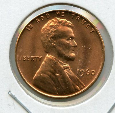 1960 Small Date Lincoln Cent - Gem Bu -