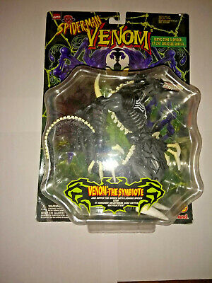 Venom The Symbiote Along Came A Spider Action Figure 1997 NIB