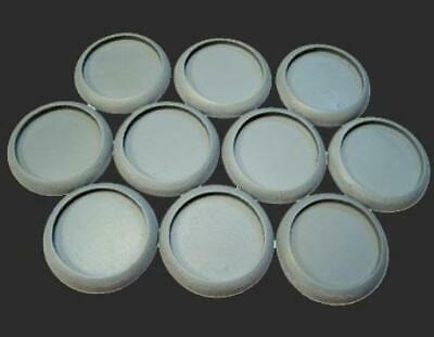 SWM Hollow Mini Base 30mm Round Lip Bases - Hollow Blanks Pack MINT