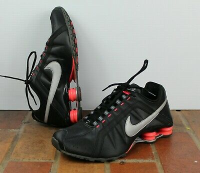 dece6adbc9 Nike Shox Junior Limited Edition Womens Size 11 Shoes 454339-016 Black/Hot  Pink