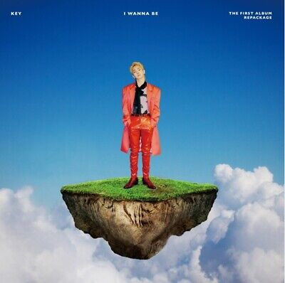 K-POP KEY SHINee 1st Repackage Album [I Wanna Be] CD+Photobook+Photocard Sealed