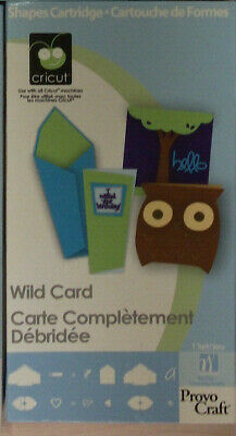 Wild Card - Cricut / Provo craft cartridge