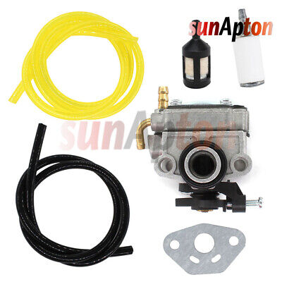 Carburetor Kit For Craftsman 30CC 4-CYCLE Gas Trimmer Weedwacker 73197 Fuel Line