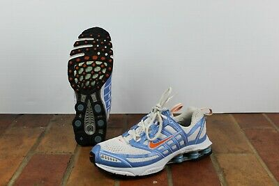 f98f15c7aad Nike Shox Zoom Air 311937 181 Retro 2005 Women s Athletic Shoes Blue Size  8.5