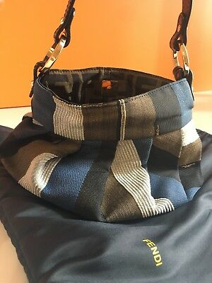 Tessuto Eur Neverfull Originale Fendi 190 Pelle Bag Borsa Shoulder cWza7cxH