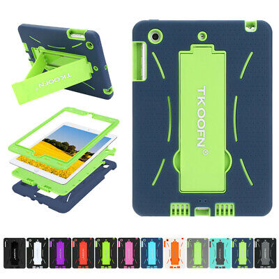 "Shockproof Case Heavy Duty Stand Hybrid Cover for iPad 2/3/4 Mini 9.7"" 6th Lot"