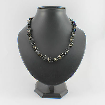 Gold Sheen Obsidian Crystal Chip Strand 48cm Necklace - Gemstone Beads