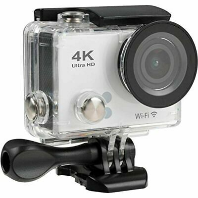 Tec 720p HD  Waterproof Video Action Camera Camcorder in White NEW AND SEALED