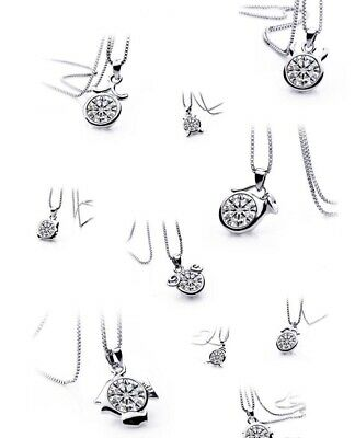 necklace pendant jewelry zodiac constellations 925 silver jewellery