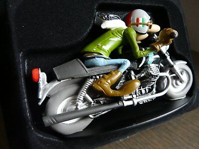 MOTO FIGURINE JOE BAR TEAM AL LASPI GUZZI 750 S