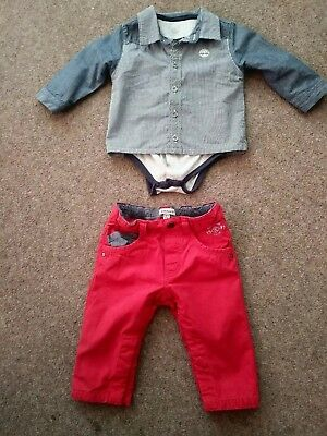 Boys' Clothing (newborn-5t) Baby Boys Timberland Trousers 12 Months Bnwt Clothing, Shoes & Accessories